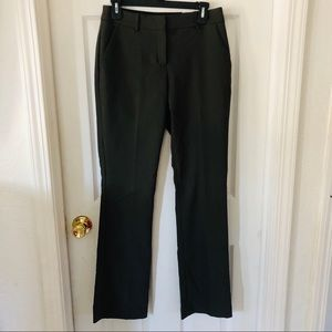 NWT Express Olive green barely bootcut career pant